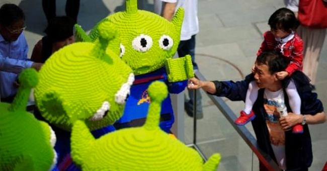 La botiga de LEGO més gran del món
